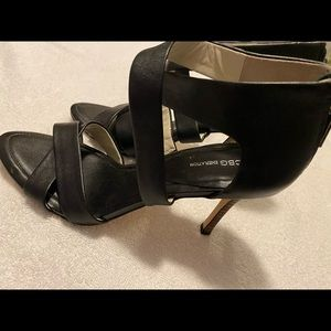 Almost Brand New Black Heels By BCBGeneration